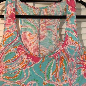 Lilly Pulitzer Dresses - EUC super cute Lilly Pulitzer t shirt dress XL